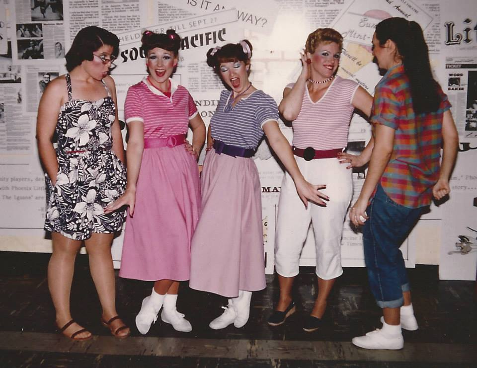 The Joe Hardy Fan Club. Suze St. John at far right. (Photo from the Suze St. John Collection).