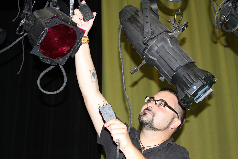 Daniel Davisson, Resident Lighting Designer and Master Electrician, Phoenix Theatre (2014 Photo)