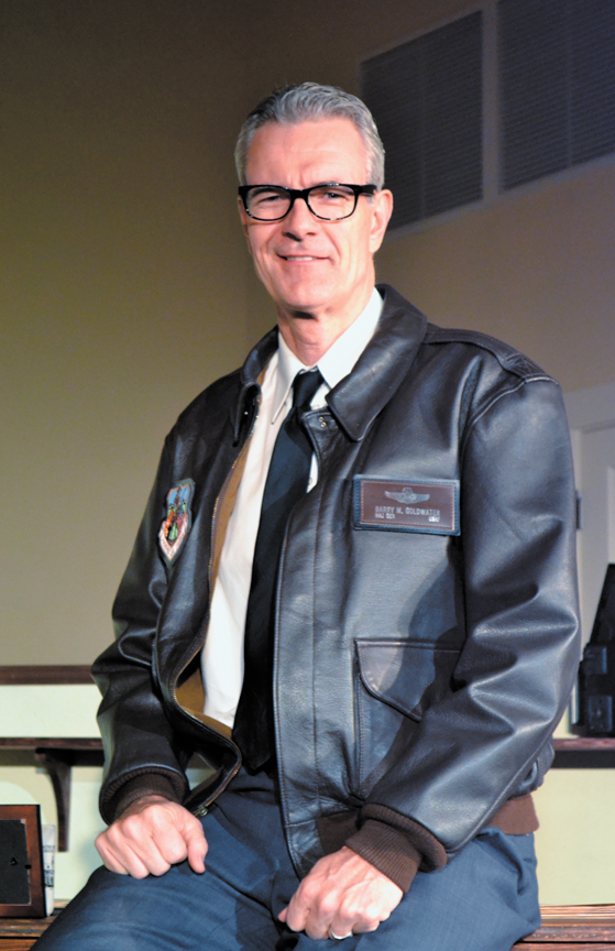 """Randy Messersmith as """"Goldwater: Mr. Conservative"""" in the 2013 revival. (Photo courtesy of the Centennial Theatre Foundation)"""