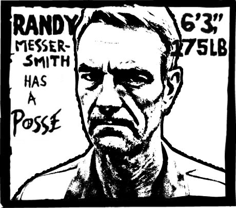 Does anyone need ask how his students feel about Randy? (Drawing by Diabetic Minority)