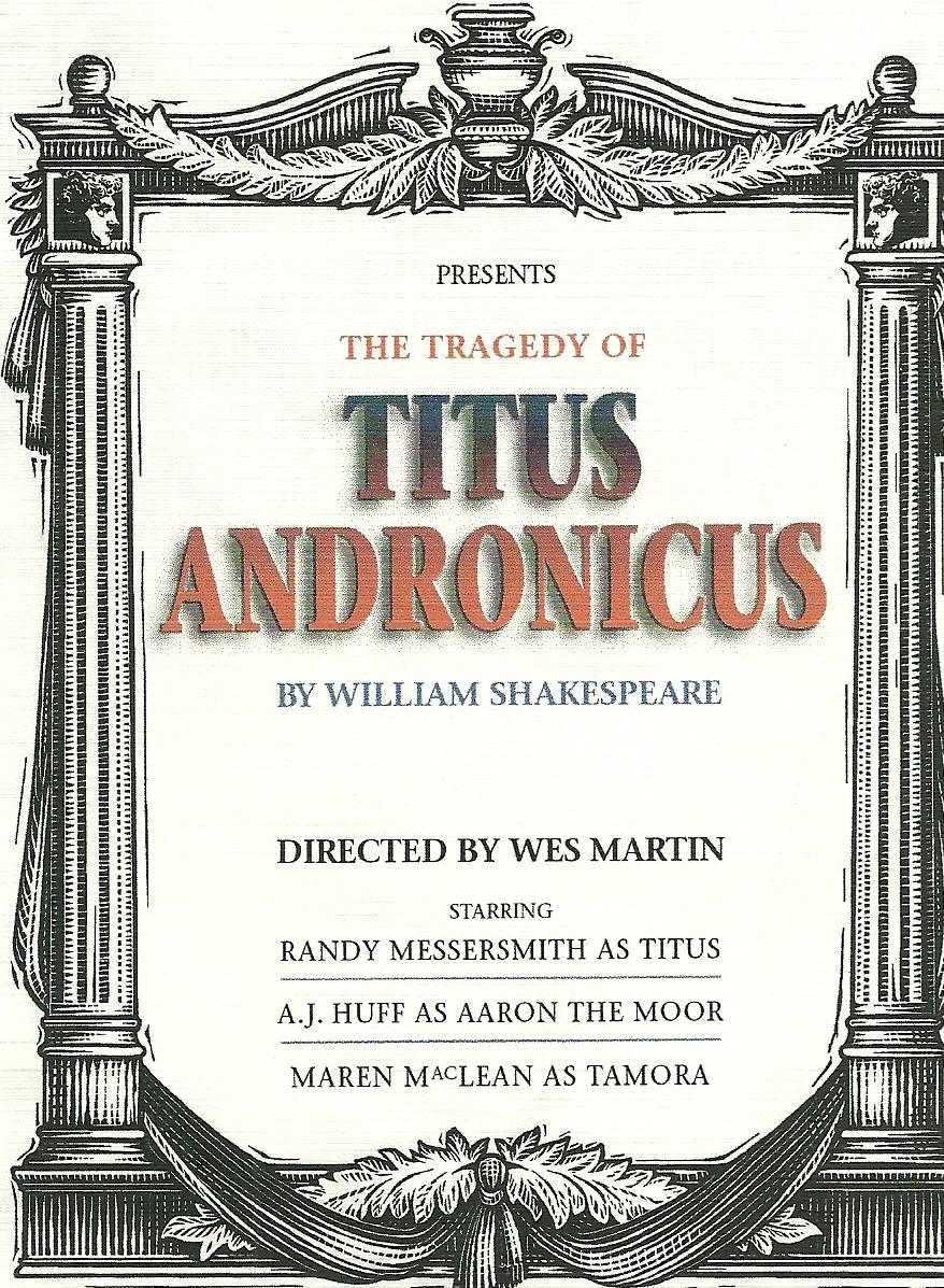 Shakespeare Theatre, Titus Andronicus 003