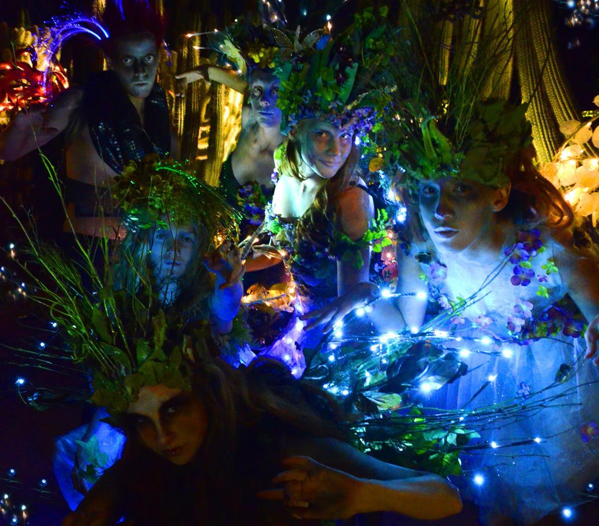 Southwest Shakespeare Company: A Midsummer Night's Dream Desert Botanical Garden May-June, 2014 ; Photograph by Mark Gluckman.