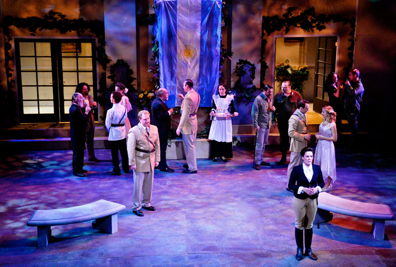 """A scene from """"Much Ado About Nothing,"""" performed during the 2011-2012 Season by Southwest Shakespeare Company."""