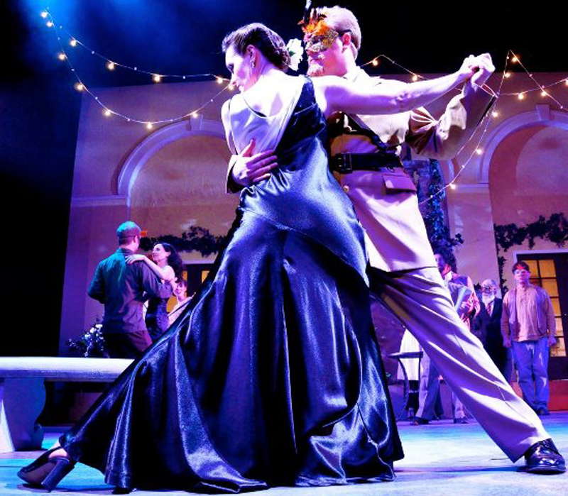 """The tango was the inspiration for SSC's production of """"Much Ado About Nothing."""""""