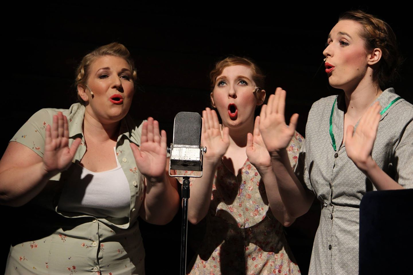 Theater Works. 2014. National Pastime. The Jingle Girls. Photo by Brett Aiken.