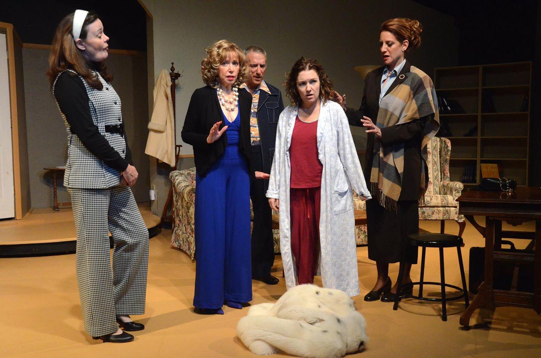 """The cast of """"Miss Reardon Drinks A Little."""""""