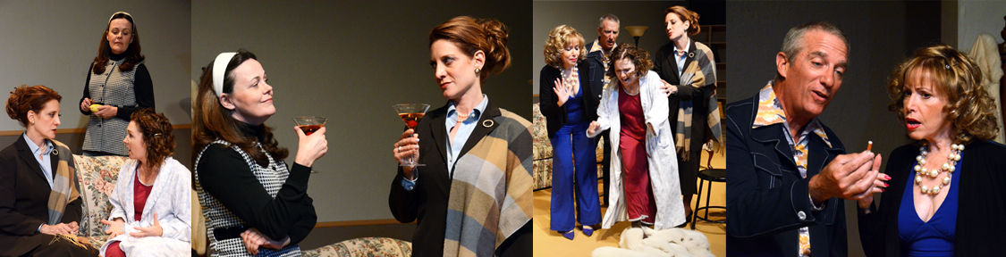 """Scenes from """"And Miss Reardon Drinks A Little"""" at Theatre Artists Studio. Do you love that title or what?"""