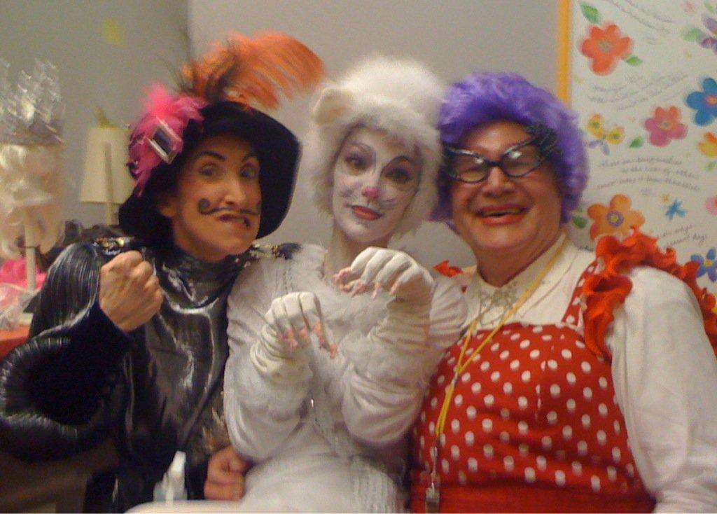 Theatre Artists Studio. 2010. Father Christmas and the Snow Queen. Susan Sindelar, Lesley Tutnick-Machbitz, David Vining. Photographer not credited.