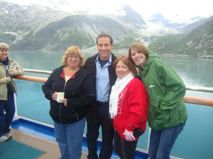 Wendy Leonard, co-founder of Greasepaint Scottsdale Youtheatre, on vacation in Alaska. (Year and photo credit unknown)