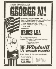 Windmill Dinner Theater, George M, Nov 1977