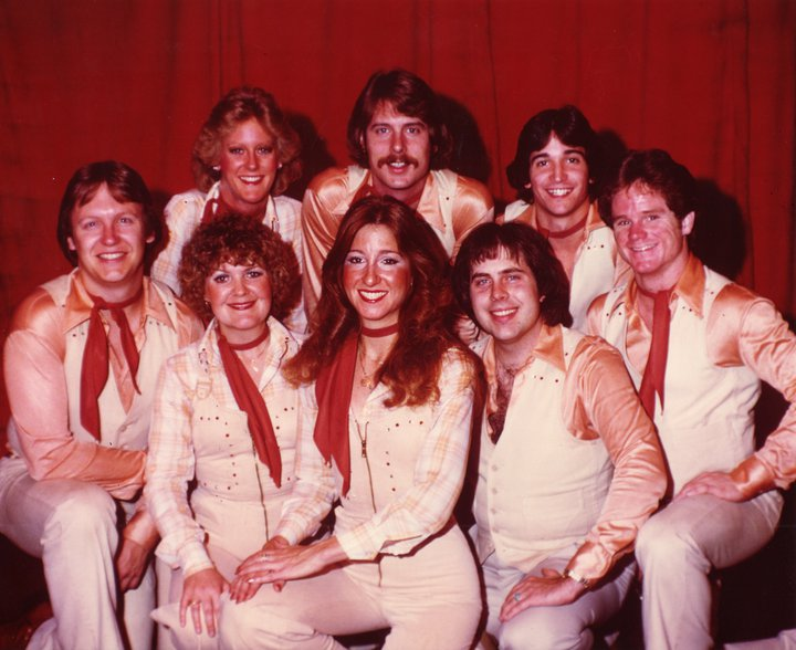 Top Row, L. to R.: Dan Wiebe, Stacy Van Dyke, Mike Breen, Kevin McNally, Bob Mitchell. Bottom Row, L. to R.: Jan Sandwich, Paula Heckman Schroeder, Jim Whitaker.