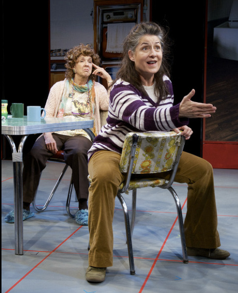 "Maria, with Cathy Dresbach in ""Good People"" at Actors Theatre. (Photo by John Groseclose)"