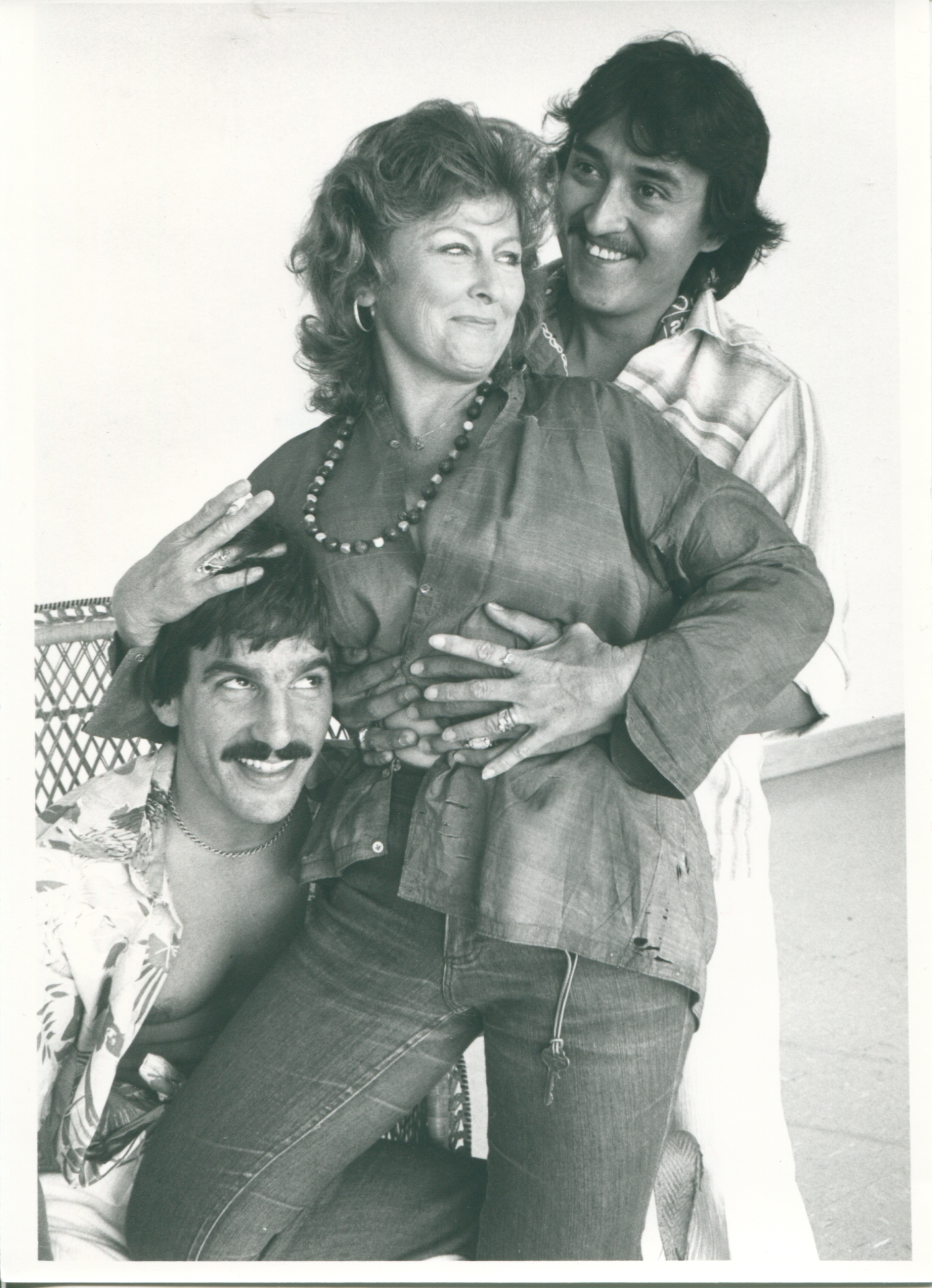 "Roy Padilla, Carolyn Paine and Bill Strauss in ""The Night of the Iguana"" at Phoenix Little Theatre."