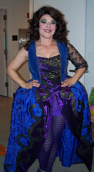 "Maria rocks her costume for the Phoenix Theatre musical, ""Nine."""