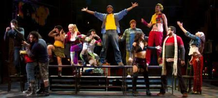 """The """"Rent"""" cast. (Photo by Sara Chambers)"""
