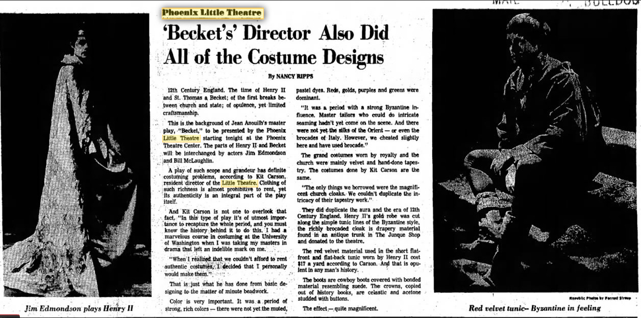 phoenix theatre beckett 000 june 12, 1968