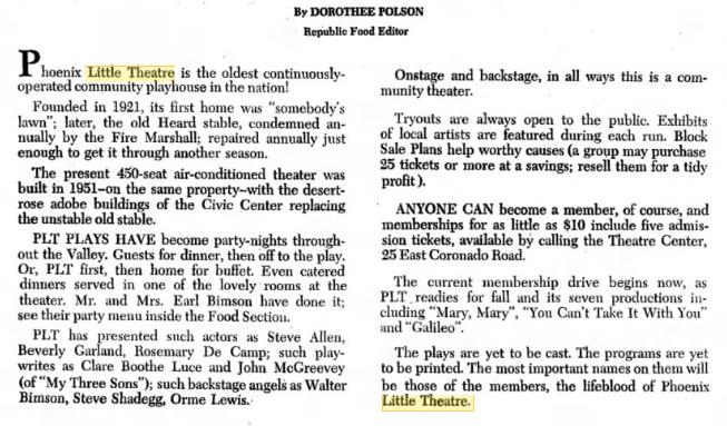 Arizona Republic, June 12, 1968.