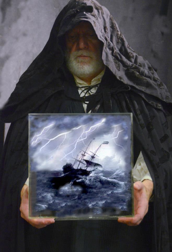 "Harold Dixon in Southwest Shakespeare's ""The Tempest"" (Photo courtesy of Southwest Shakespeare Company)"