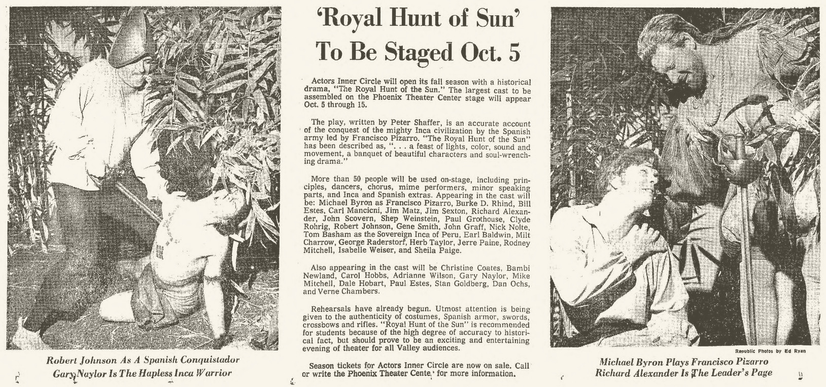 Arizona Republic, Sept. 3, 1967
