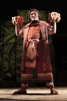 """Andres Alcala in Childsplay's 2011 production of """"The Sun Serpent."""" (Photo courtesy of Childsplay)"""