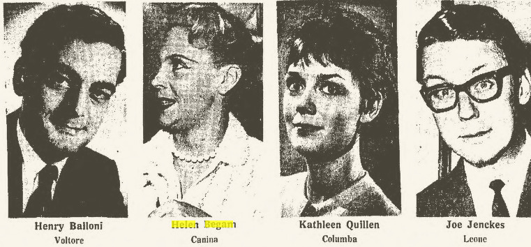 Clipping from the Arizona Republic, Dec. 26, 1965