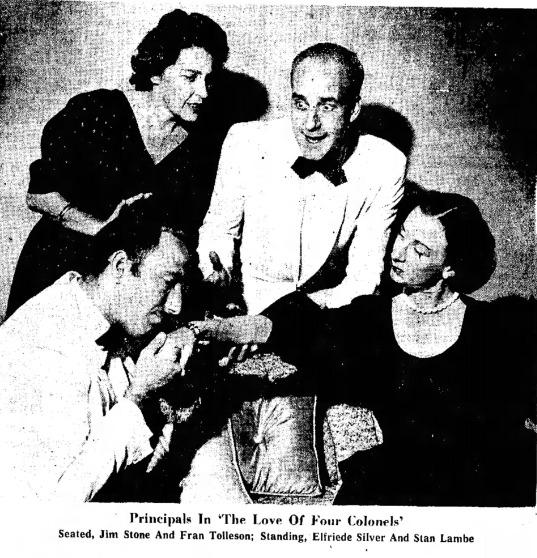 Arizona Repertory Theatre, Love of Four Colonels 0000