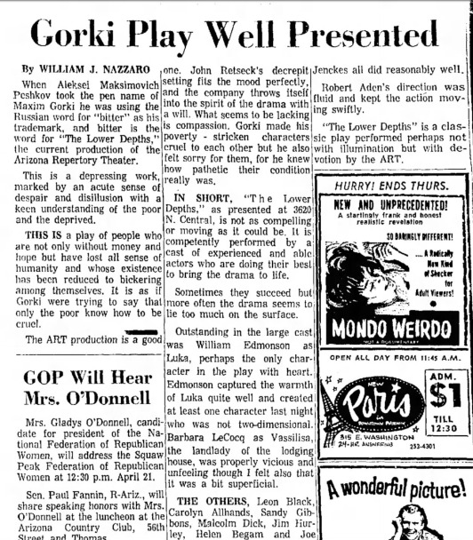 Arizona Republic, April 12, 1967