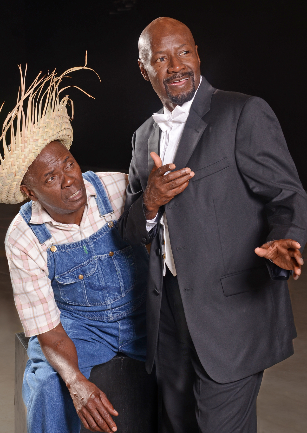 "Arthur Reid and T.A. Burrows in ""Purlie,"" 2014, Black Theatre Troupe. (Photo by Laura Durant)"