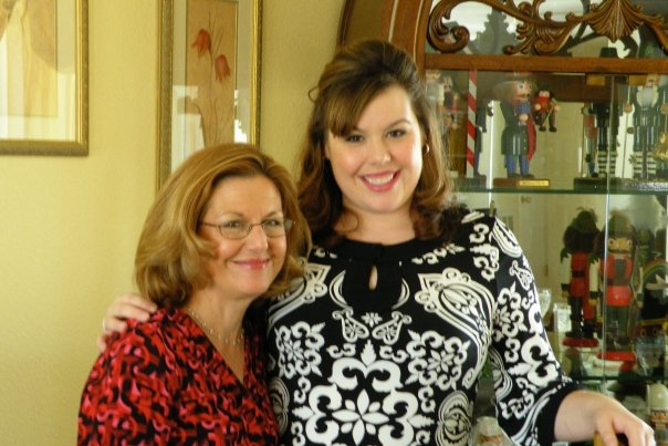 Emily Mulligan-Ferry with her mother, Melita Mulligan-Ferry.