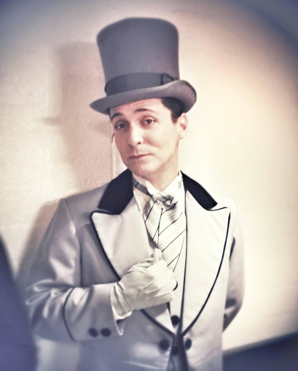 Ian Christiansen as Freddy Eynesford-Hill.