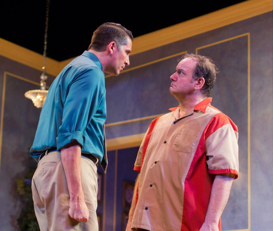 "Jesse Berger and Bruce Laks in ""The Odd Couple"" at Arizona Broadway Theatre."