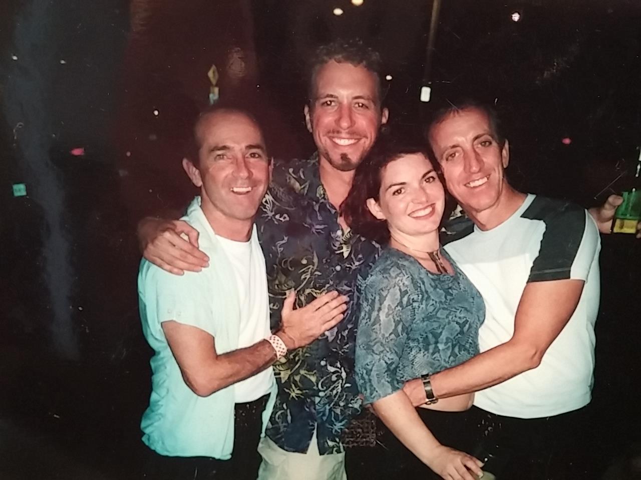 Jon Gentry, 2001, The Pirates of Penzance. Jon, John Holley, Melanie Gray Robinson, Roger Preston Smith.