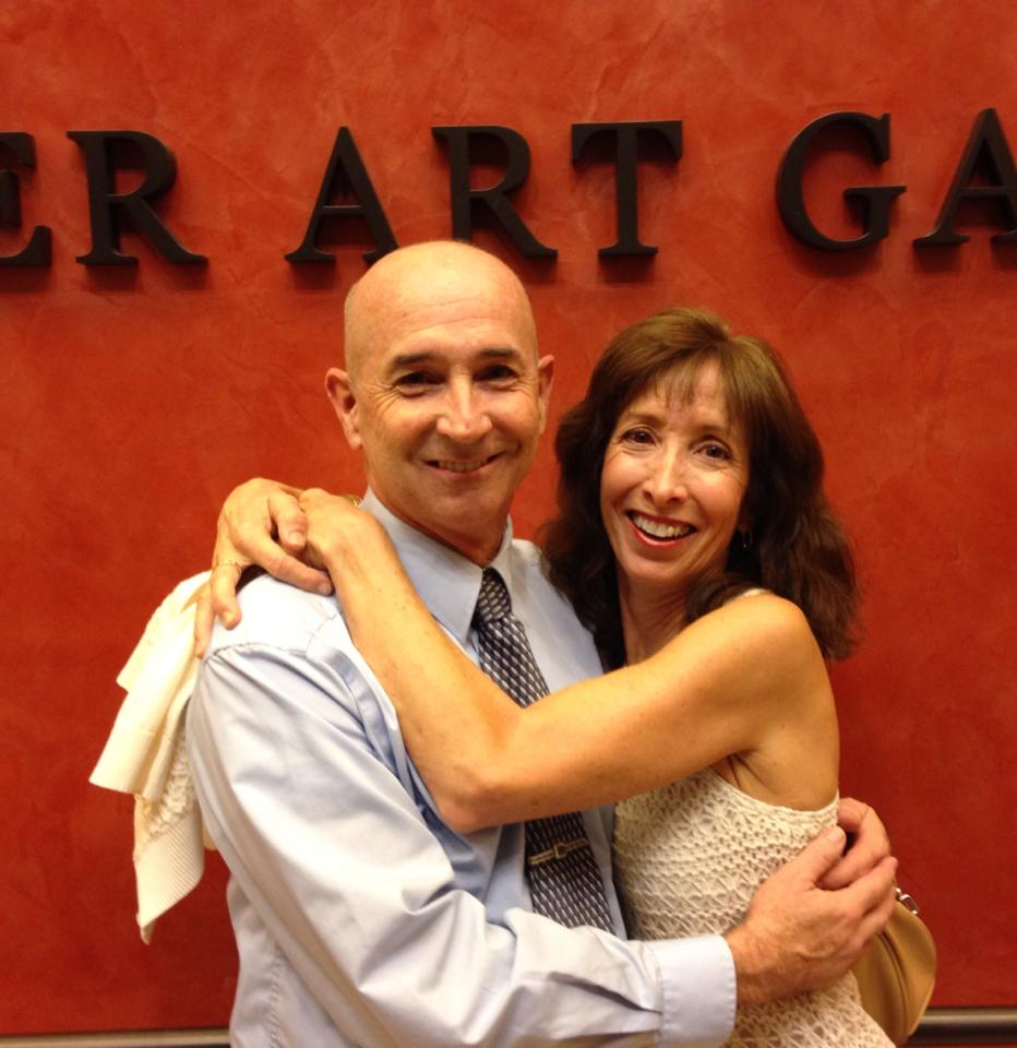 Jon Gentry and Susan Sindelar at a theatrical event n 2013.
