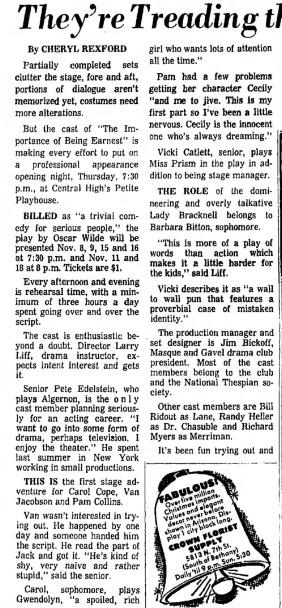 Clipping from the Arizona Republic, Nov. 5, 1967
