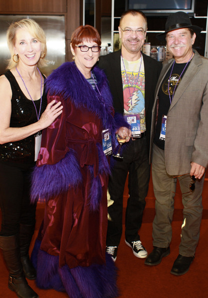 Lori Martin, Shelley Cohn, Steve Martin and John Little attend Childsplay's 2014 Rock the Schoolhouse Gala. (Photo credit unknown)
