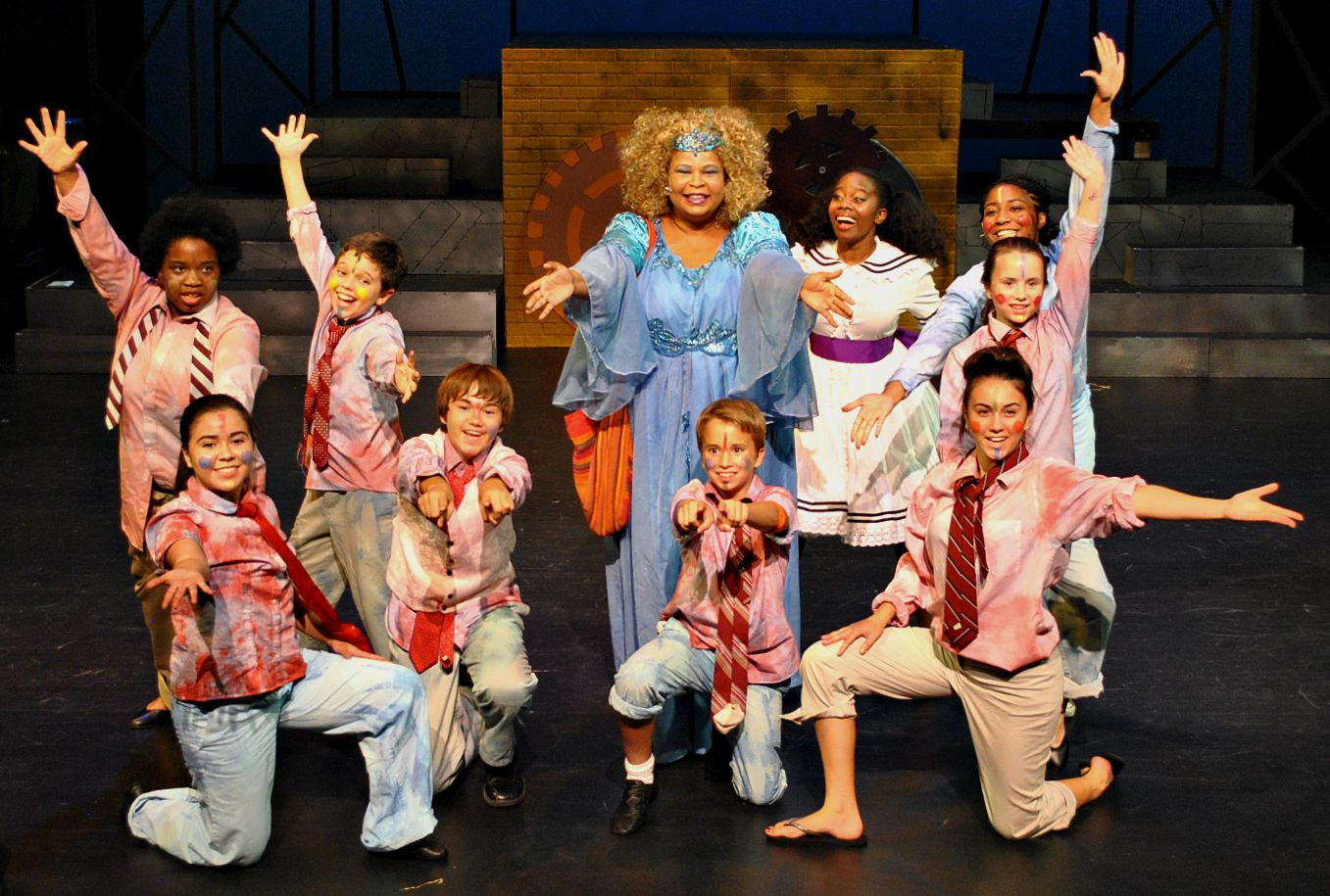Mesa Encore Theatre. 2015. The Wiz. Photo by Sarah Rodgers