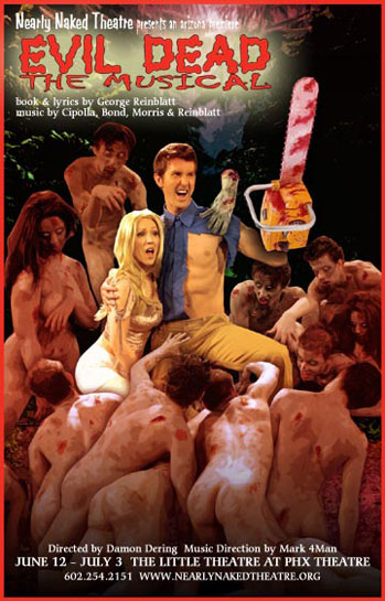 Nearly Naked Theatre Evil Dead 001