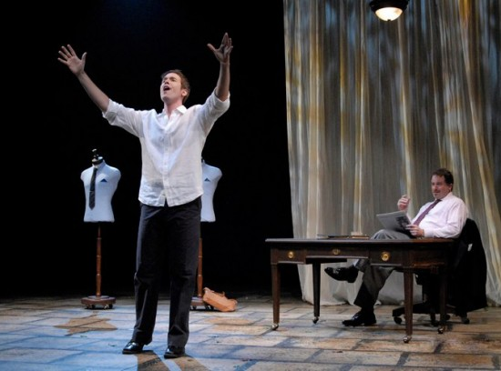 """Nick co-starred in """"The Light in the Piazza"""" at Phoenix Theatre."""