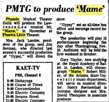 The Arizona Republic, Aug. 6, 1973