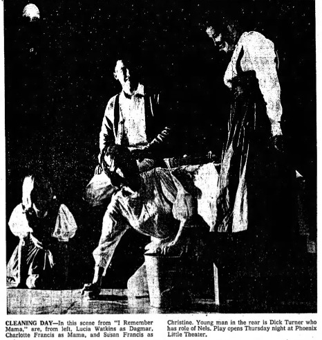 Phoenix Theatre 1960 I Remember Mama 002