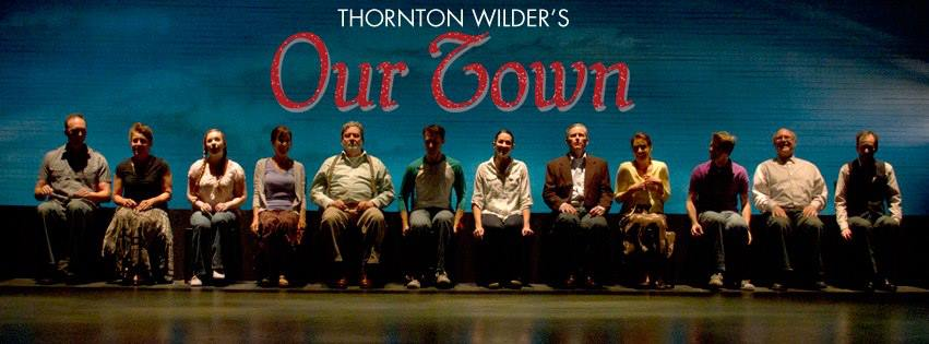 """The cast of """"Our Town,"""" 2013, Phoenix Theatre: from left, Joseph Kremer, Maria Amorocho Weisbrod, Allison Houston, Sharri Watts, Robert Anthony Peters, Jenny Hintze Barber, Dion Johnson, Debby Rosenthal, Andy Cahoon, David Vining and Alan Ruch."""