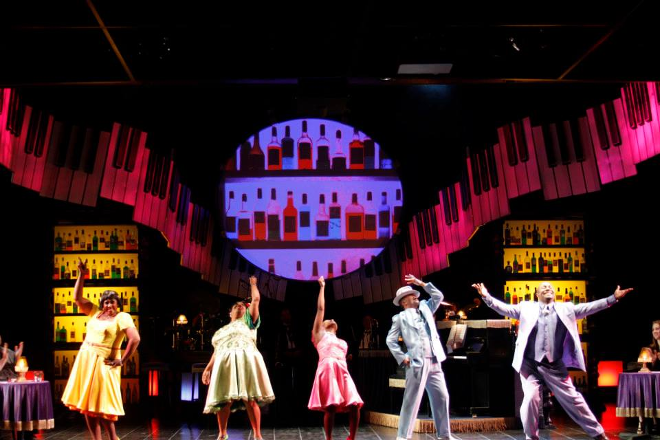 """The cast of """"Ain't Misbehavin'"""", 2014, Phoenix Theatre. (Photo by Sara Chambers)"""