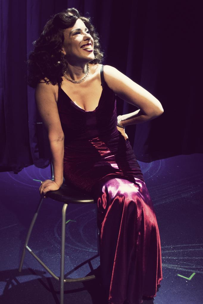 """Jenn Taber makes the most of a Gershwin tune in """"S'Wonderful"""" at Phoenix Theatre. (Photo credit unknown)"""