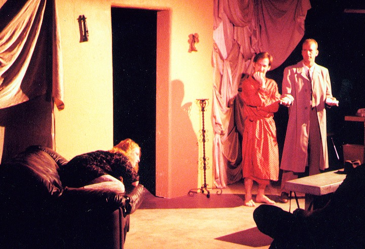 """""""Death by Dominatrix,"""" Planet Earth Theatre. (Photo from the collection of Mollie Kellogg)"""