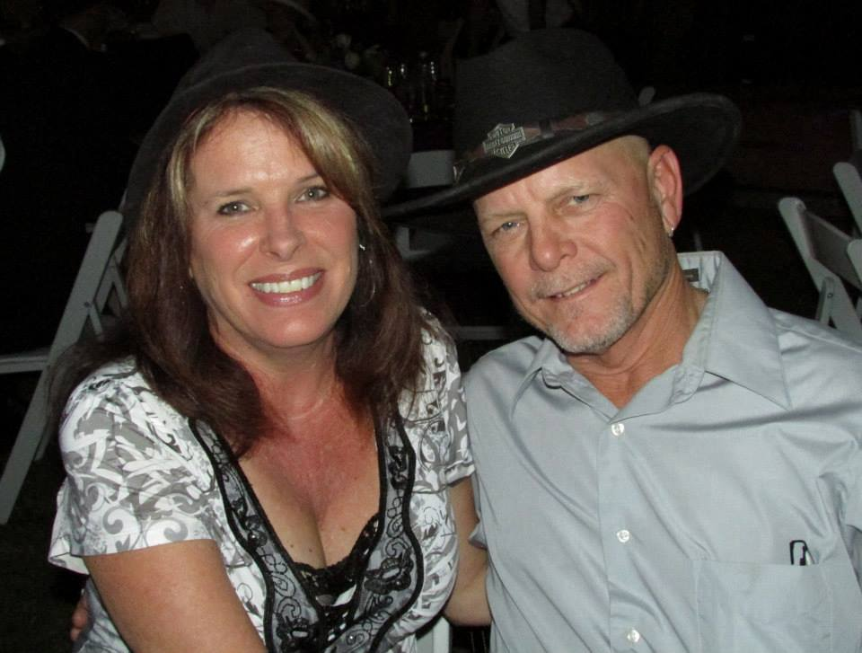 Robyn and her husband Al at a friend's wedding. (Photo by Brenda Goodenberger)