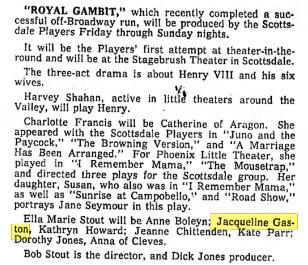Scottsdale Daily Progress, April 3, 1961.