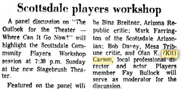 Arizona Republic, May 6, 1969
