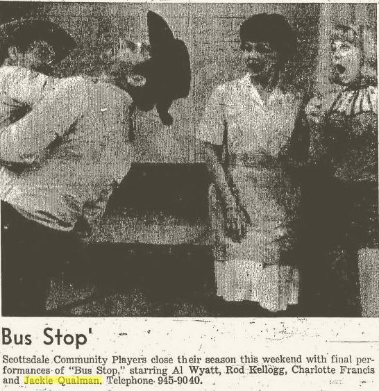 Scottsdale Community Players, Bus Stop b