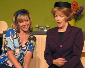"Angela Kriese and Barbara Walker McBain in ""Barefoot in the Park"" at Scottsdale Desert Stages Theatre, 2008. (Photo courtesy of the theater)"
