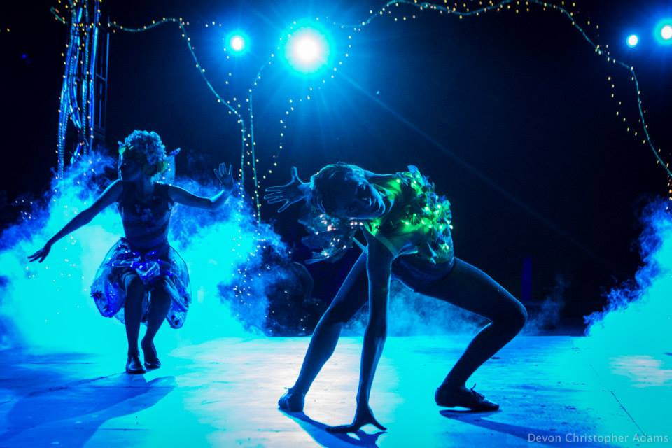 """Another of Devon Adam's magical shots of """"Fairy Worlds"""" at Southwest Shakespeare Company."""